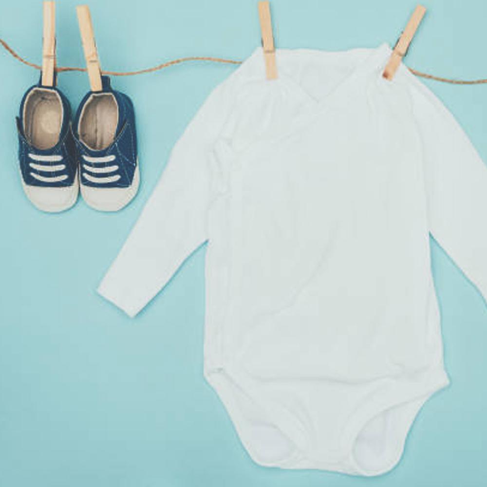 lavagem de enxoval de bebê